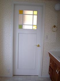 ドア施工実績