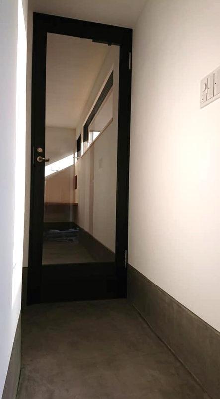 宇部市の自宅兼事務所の建具工事