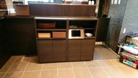 ダストボックス付きの収納家具