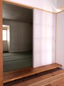 美祢市古民家再生プロジェクトの建具工
