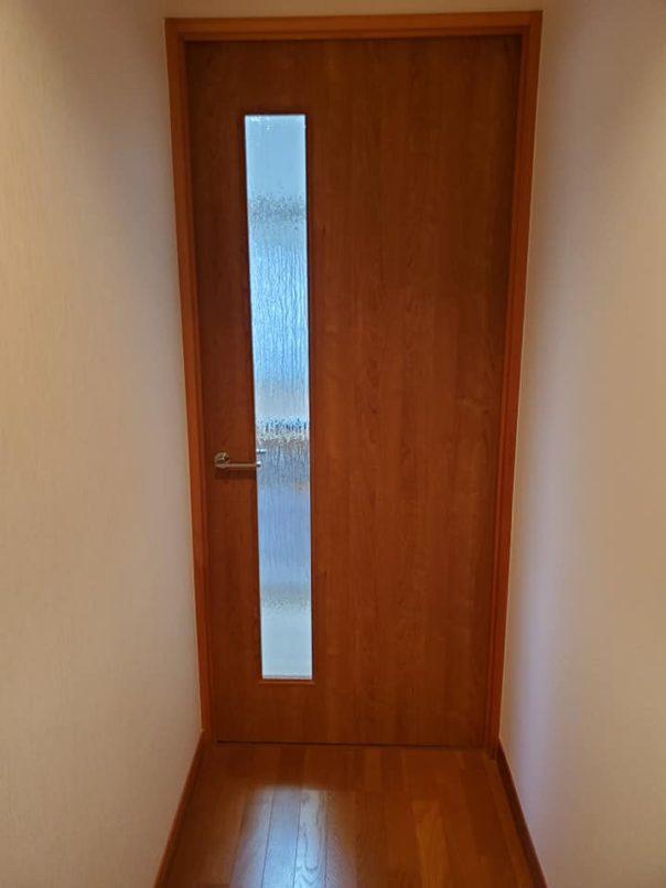 ドアの取り付け